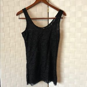 Shimmery Lace Tank